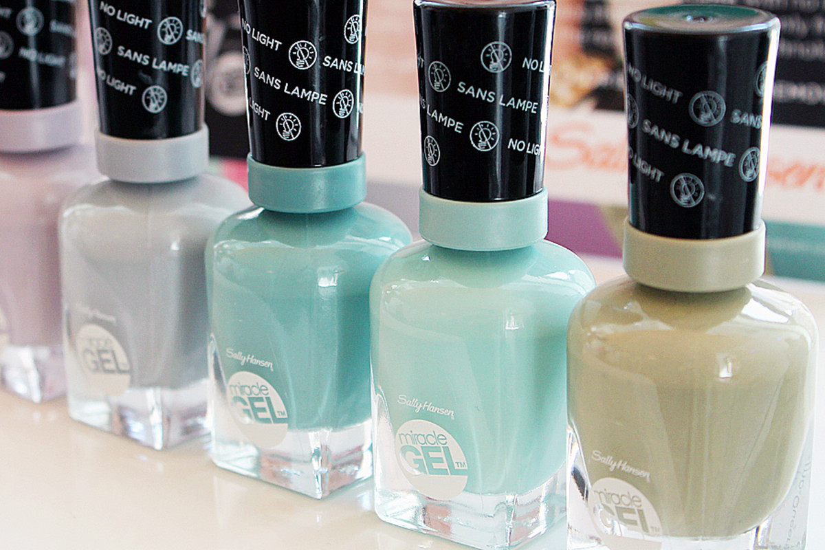 Sally Hansen Miracle Gel_partial Street Pastels Collection of shades