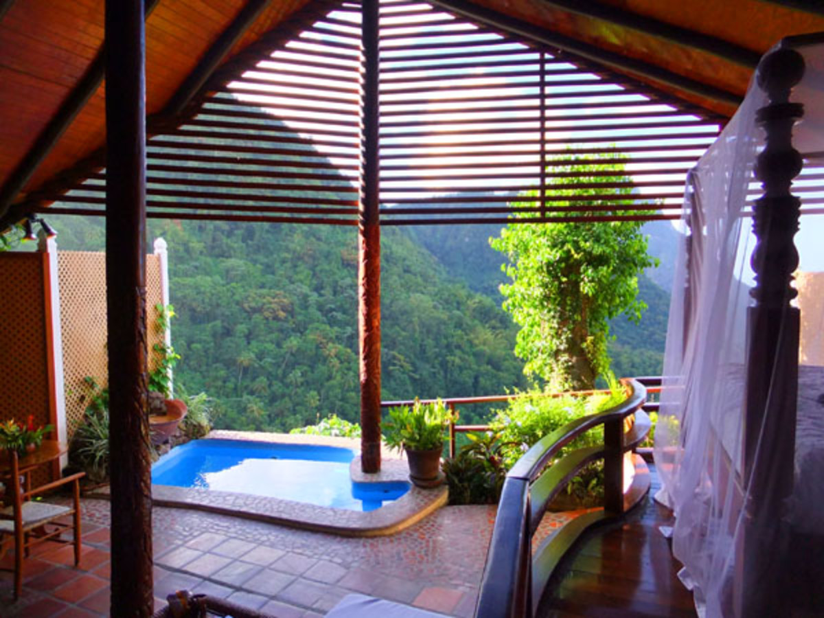 Ladera_St. Lucia_View with a Room