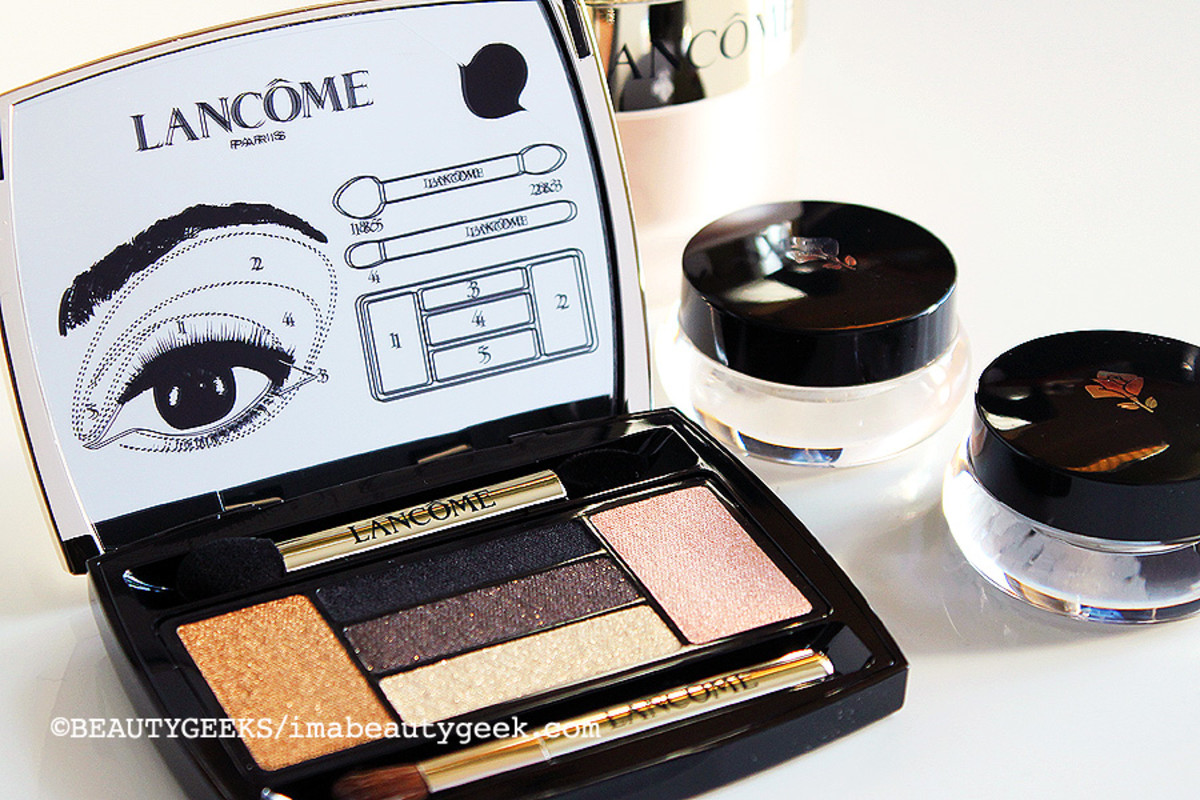 Lancome Holiday 2014_Lancome Drama Eyes Hypnose Palette in Parisian Lights and Hypnose Dazzling eye shadows