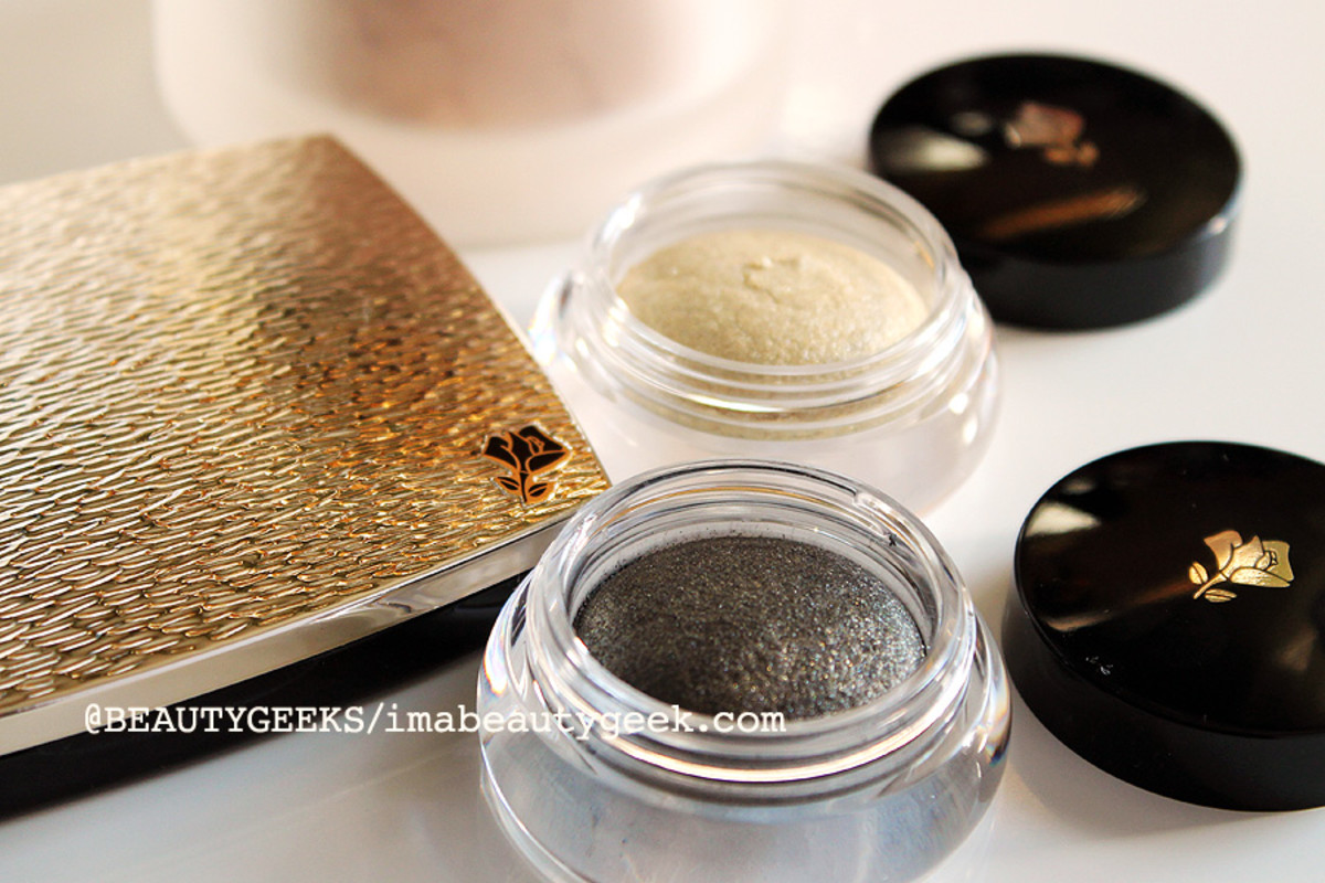 Lancome Holiday 2014_Lancome Hypnose Dazzling eyeshadows in Black and Gold