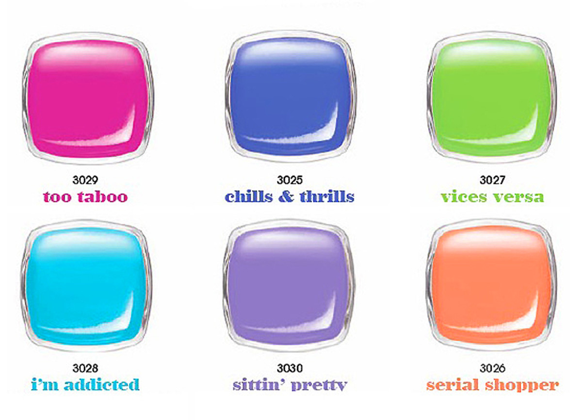 Essie Neons 2014_summer_Too Taboo_swatches to come