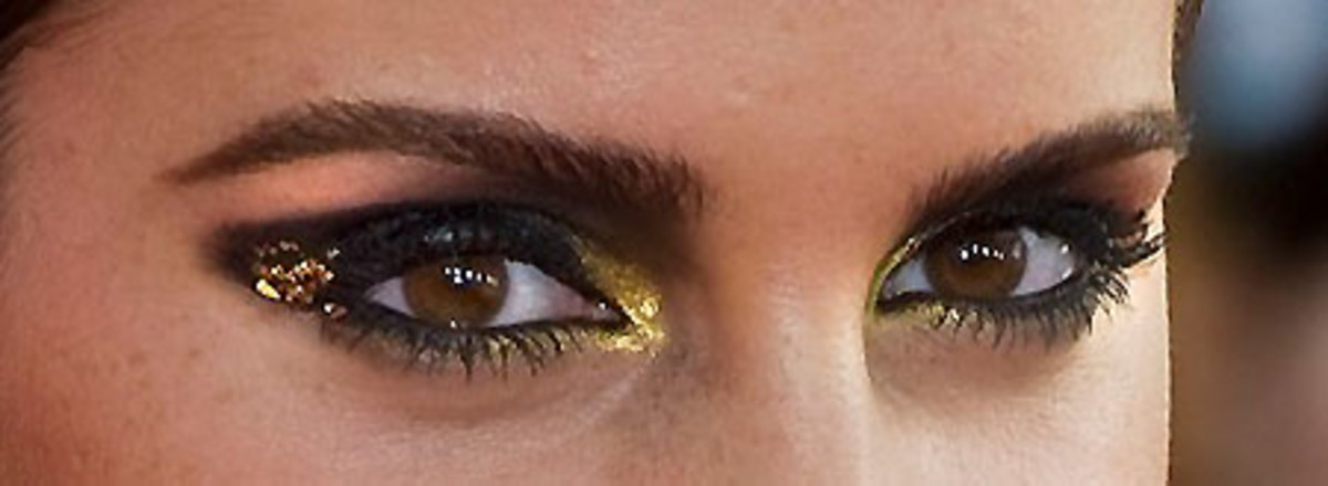 Emma Watson's Eye Makeup at the NYC Harry Potter Premiere