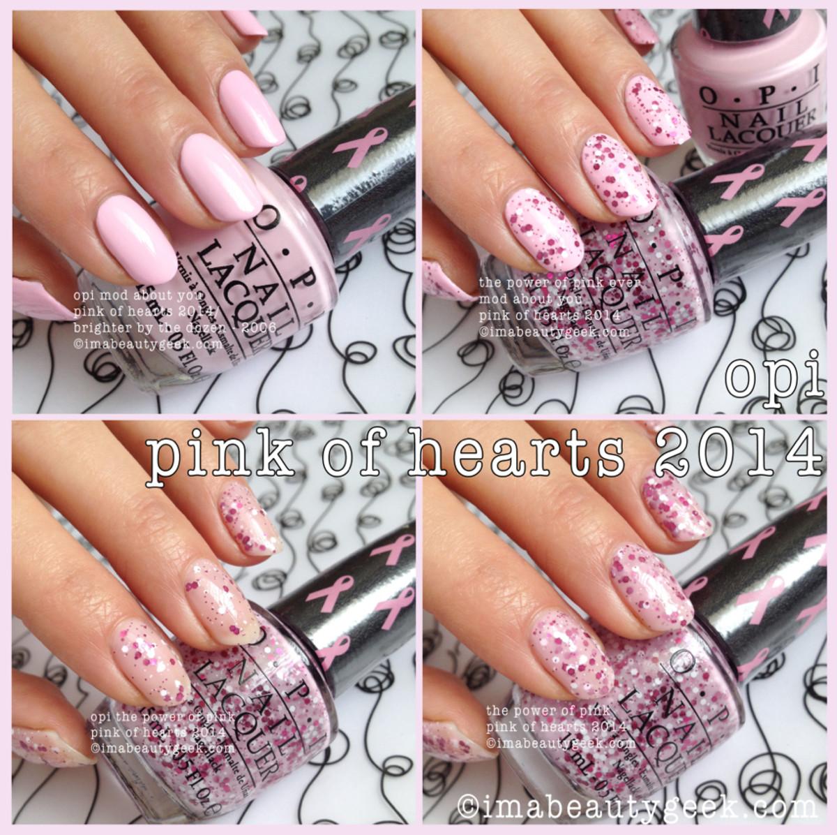 OPI Pink of Hearts 2014 BCA Beautygeeks