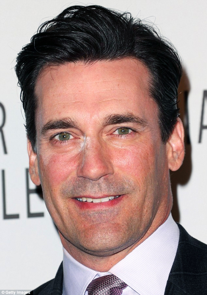 Jon Hamm white powder