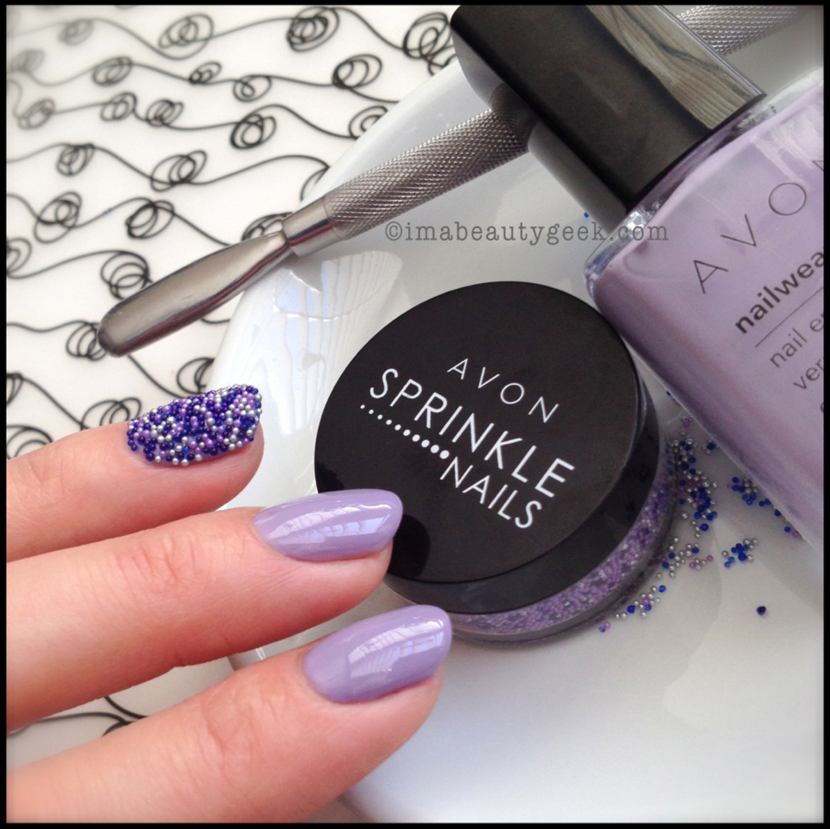 Avon Sprinkle Nails_6