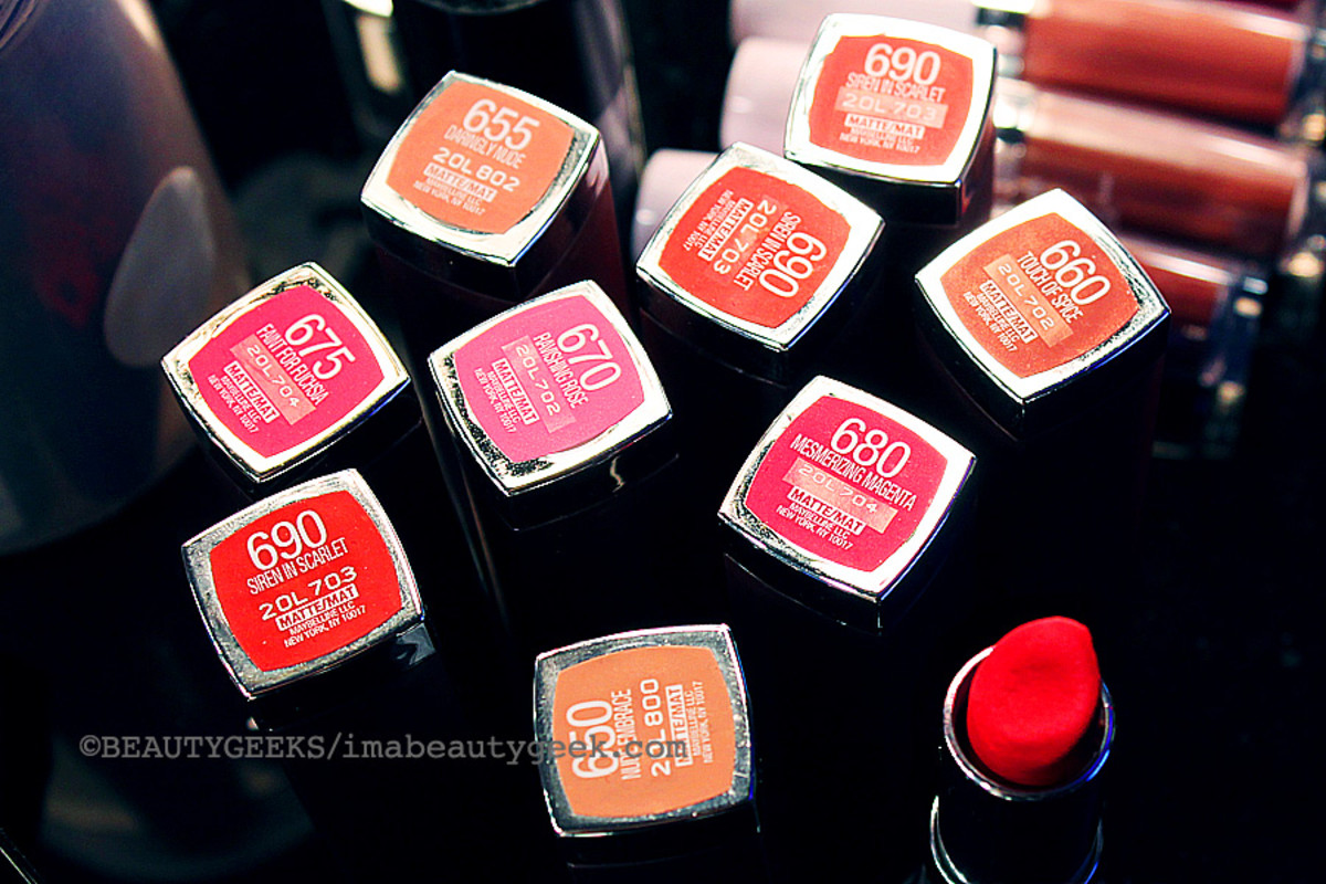 Maybelline Color Sensational Creamy Matte lipsticks_TargetCanada at World Mastercard Fashion Week_Toronto