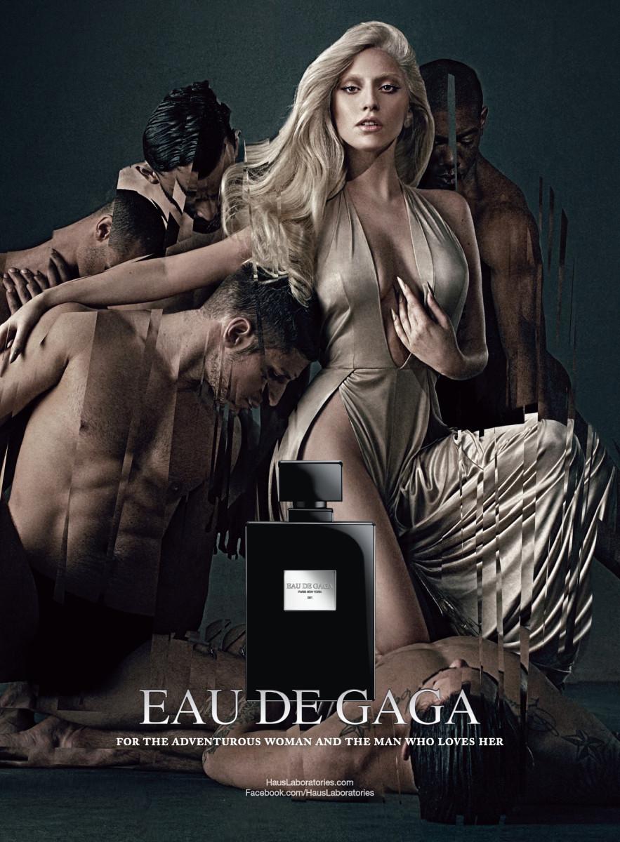 Eau de Gaga ad visual