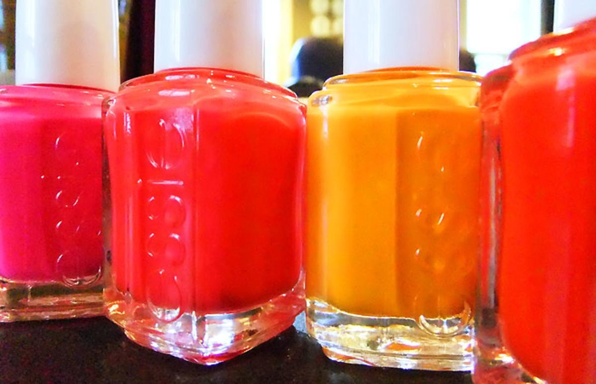 Essie Neon polish collection 2012