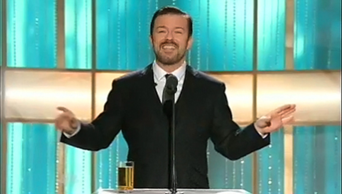 RickyGervais_GoldenGlobes2011