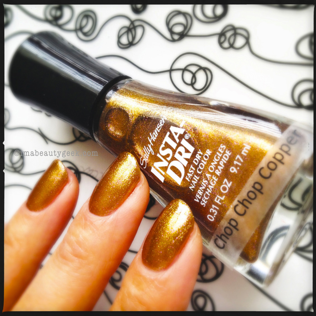 Sally Hansen Chop Chop Copper
