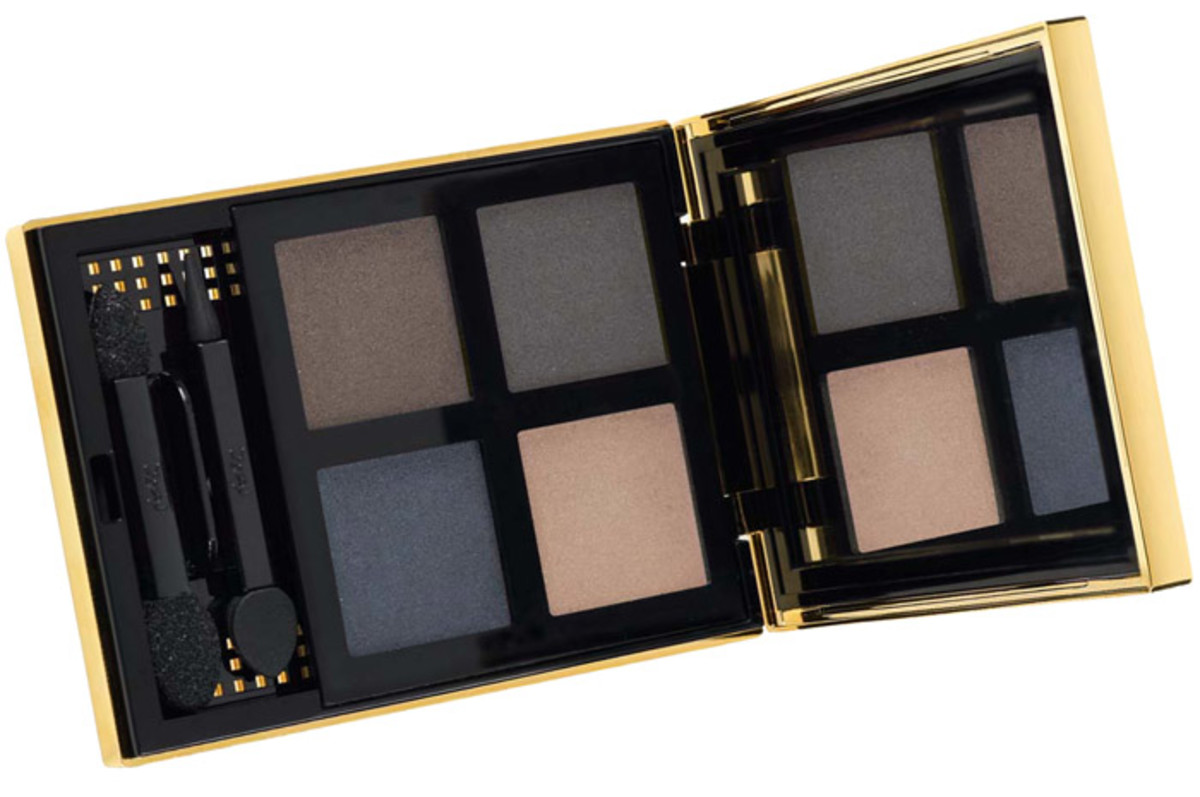 YSL Pure Chromatics 4 Wet and Dry Eye Shadows 11_matte