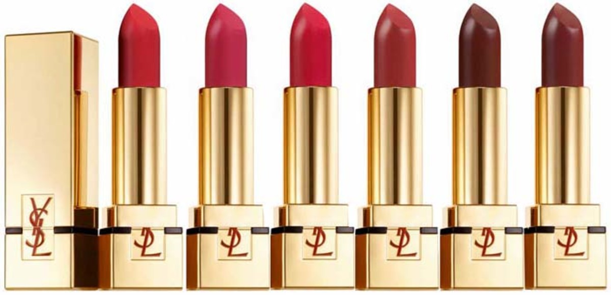 YSL Rouge Pur Couture The Mats_Orange Imagine_Rose Crazy_Rouge Rock_Rouge Scandal_Prune Virgin_Grenat Satisfaction
