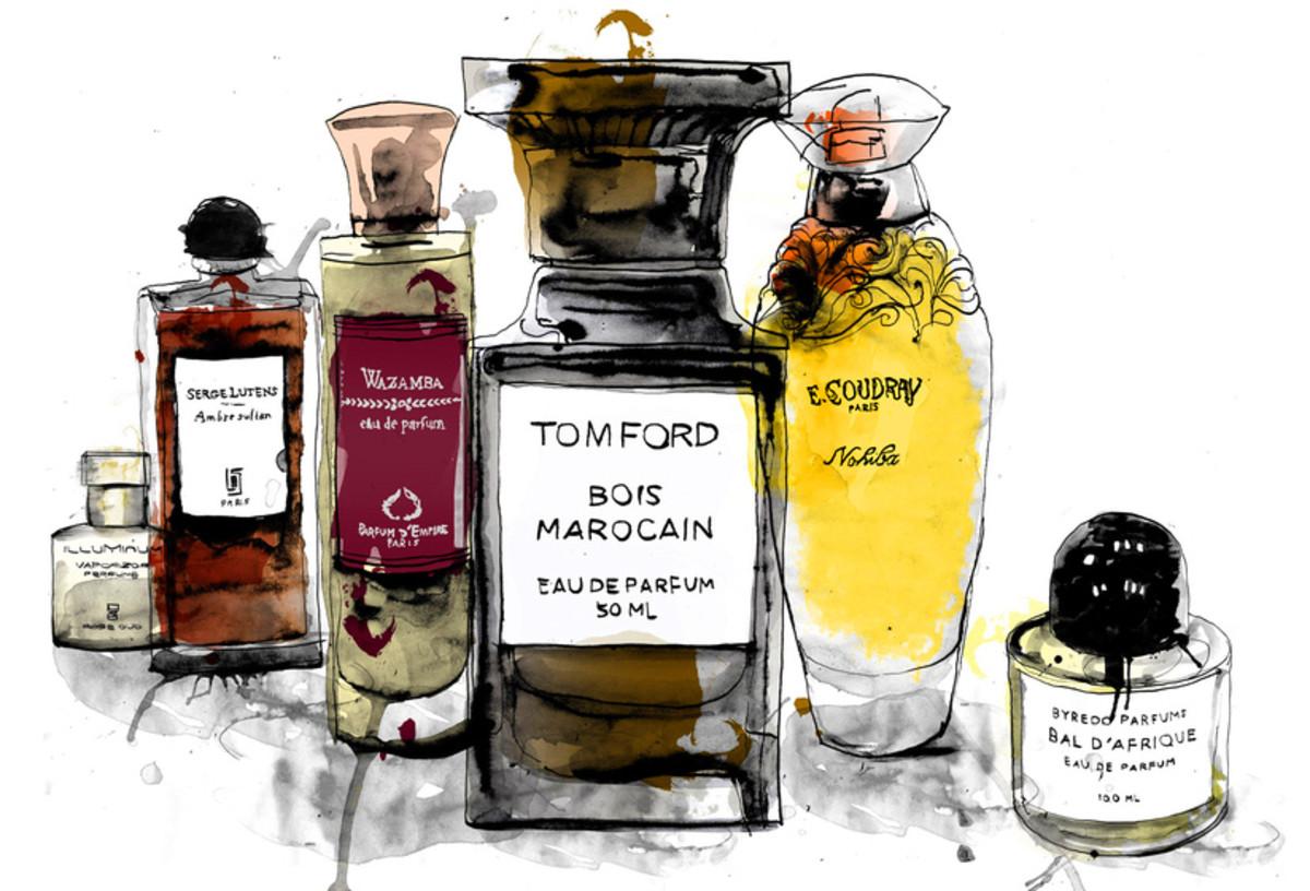 Fragrance bottles_debutart_by patrick-morgan_15394