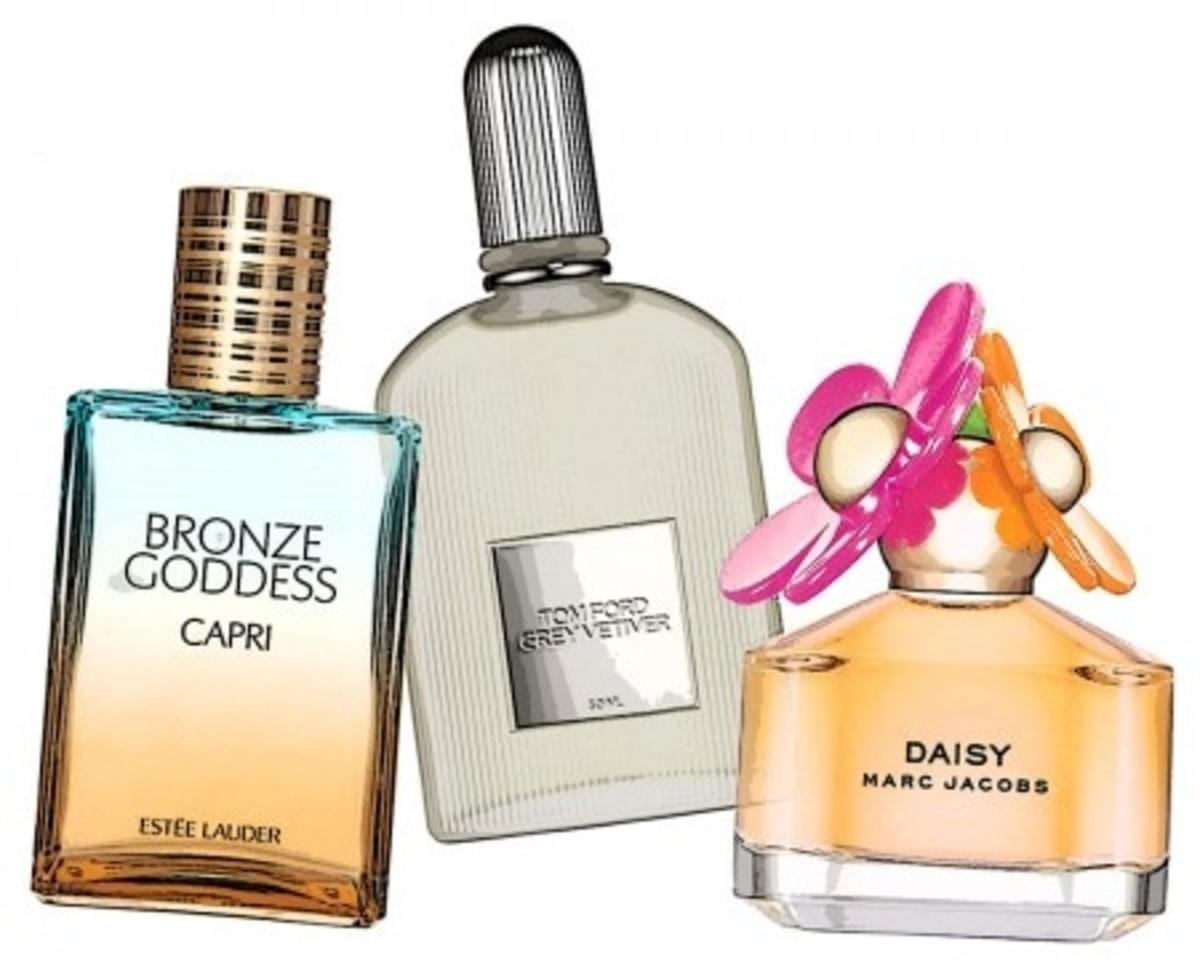 Estee Lauder Bronze Goddess Capri_Tom Ford Grey Vetiver_Daisy Marc Jacobs
