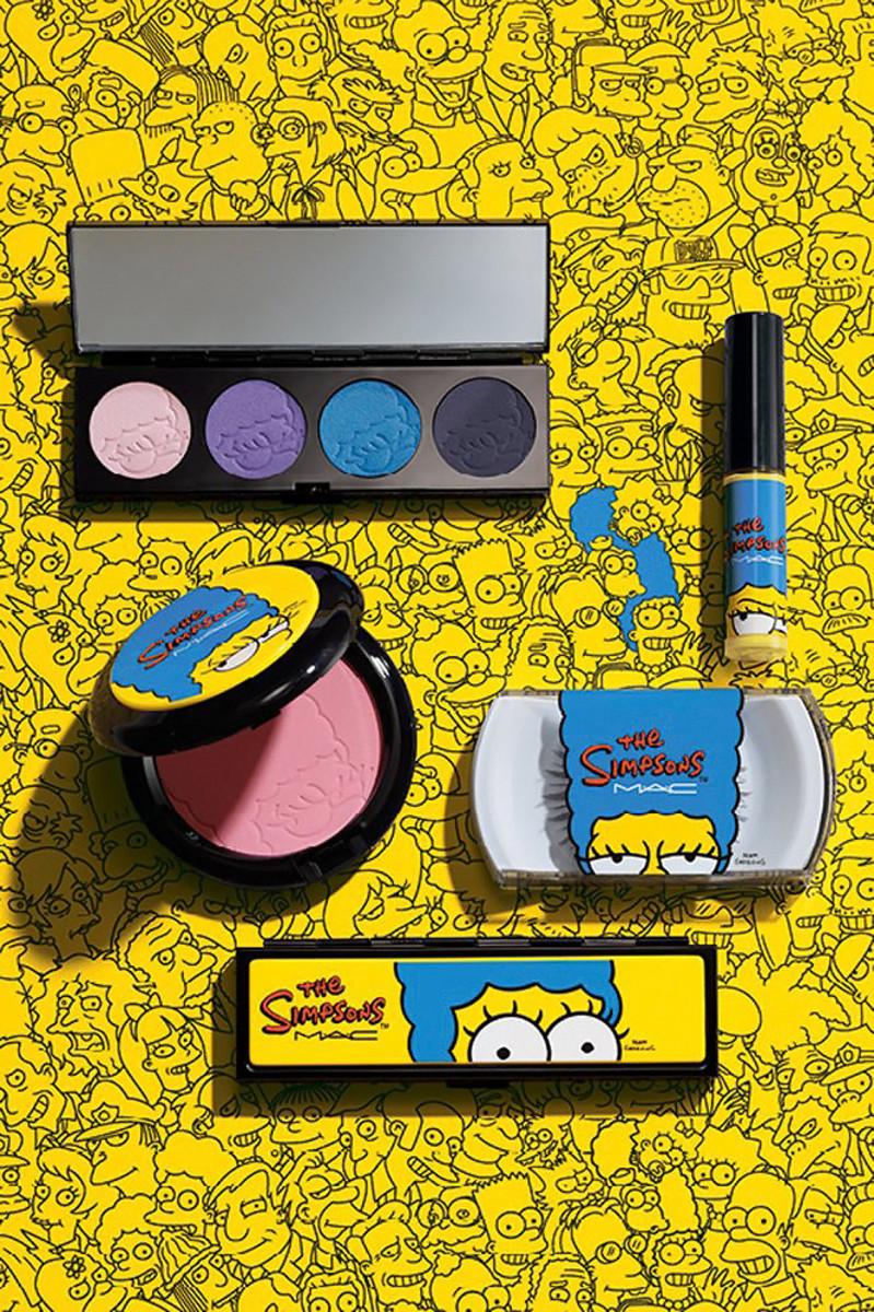 MAC Simpsons makeup collection