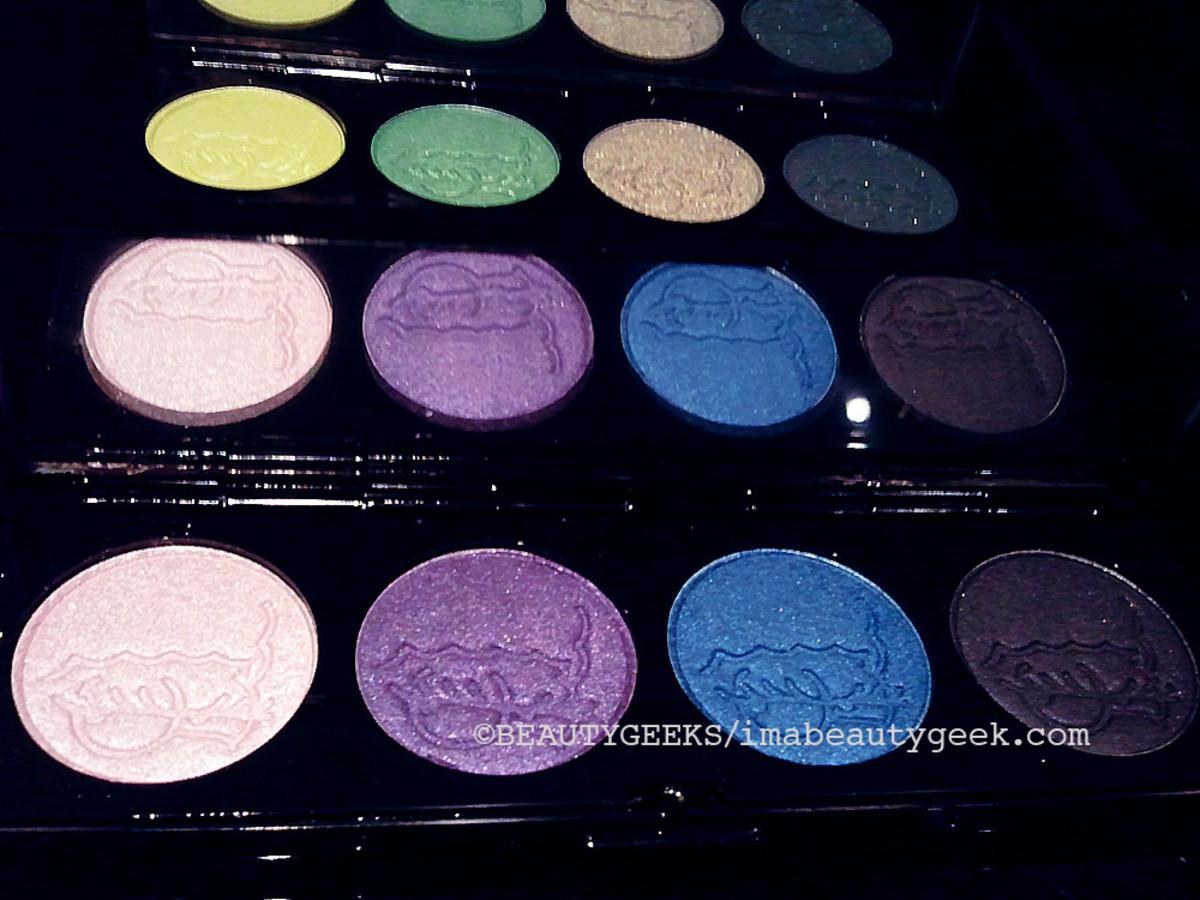 MAC Simpsons makeup eye shadow palette