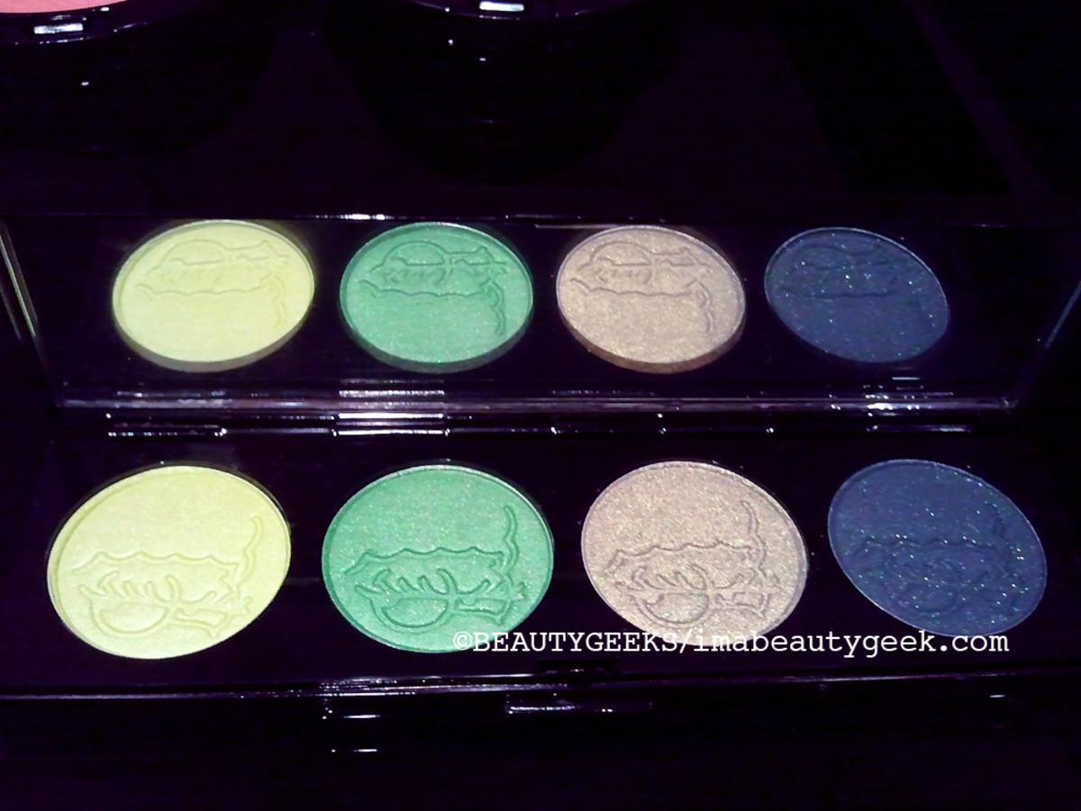 MAC Simpsons makeup eye shadow palette 2