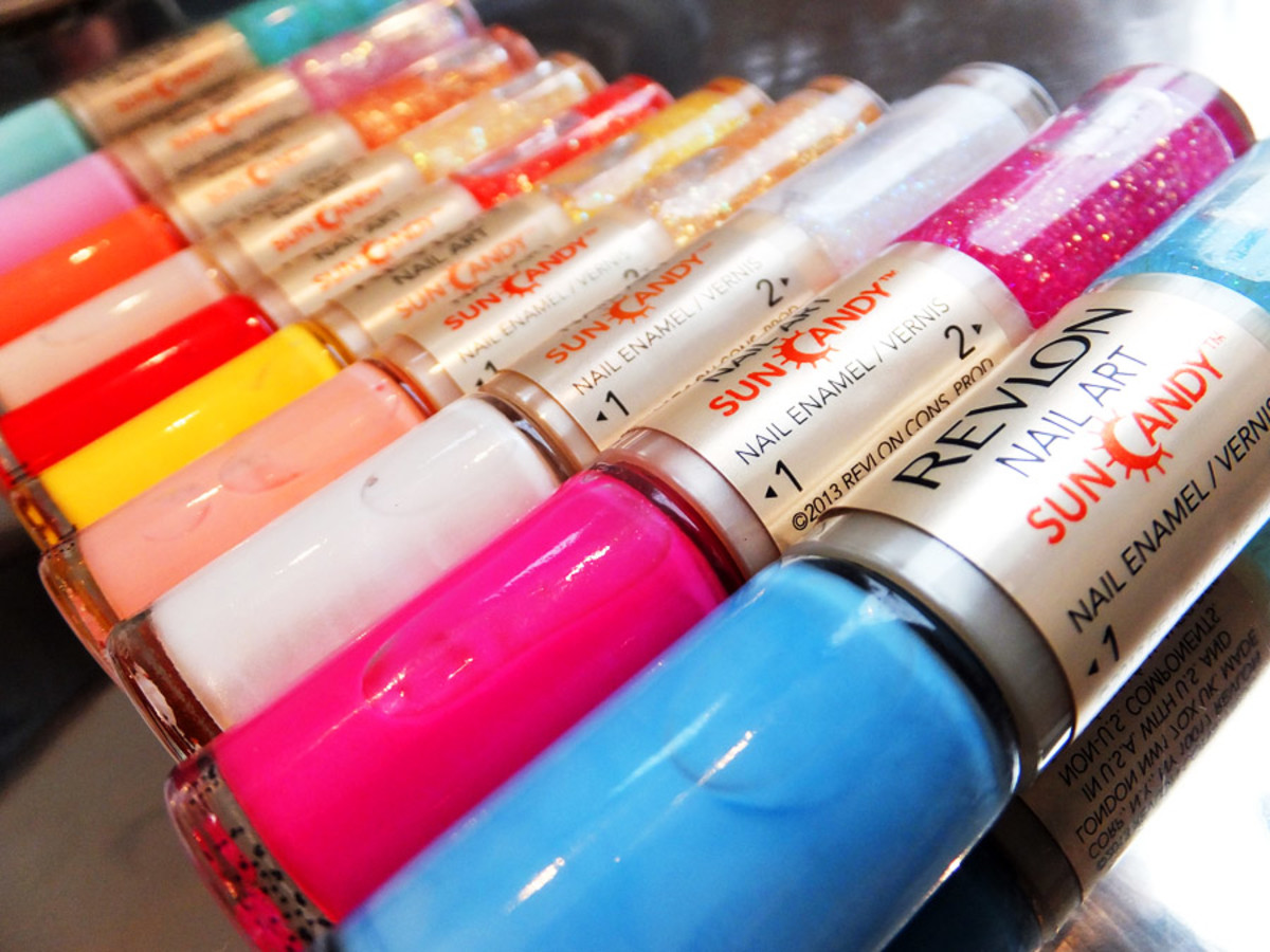 Revlon Nail Art Sun Candy duos_creamy shades