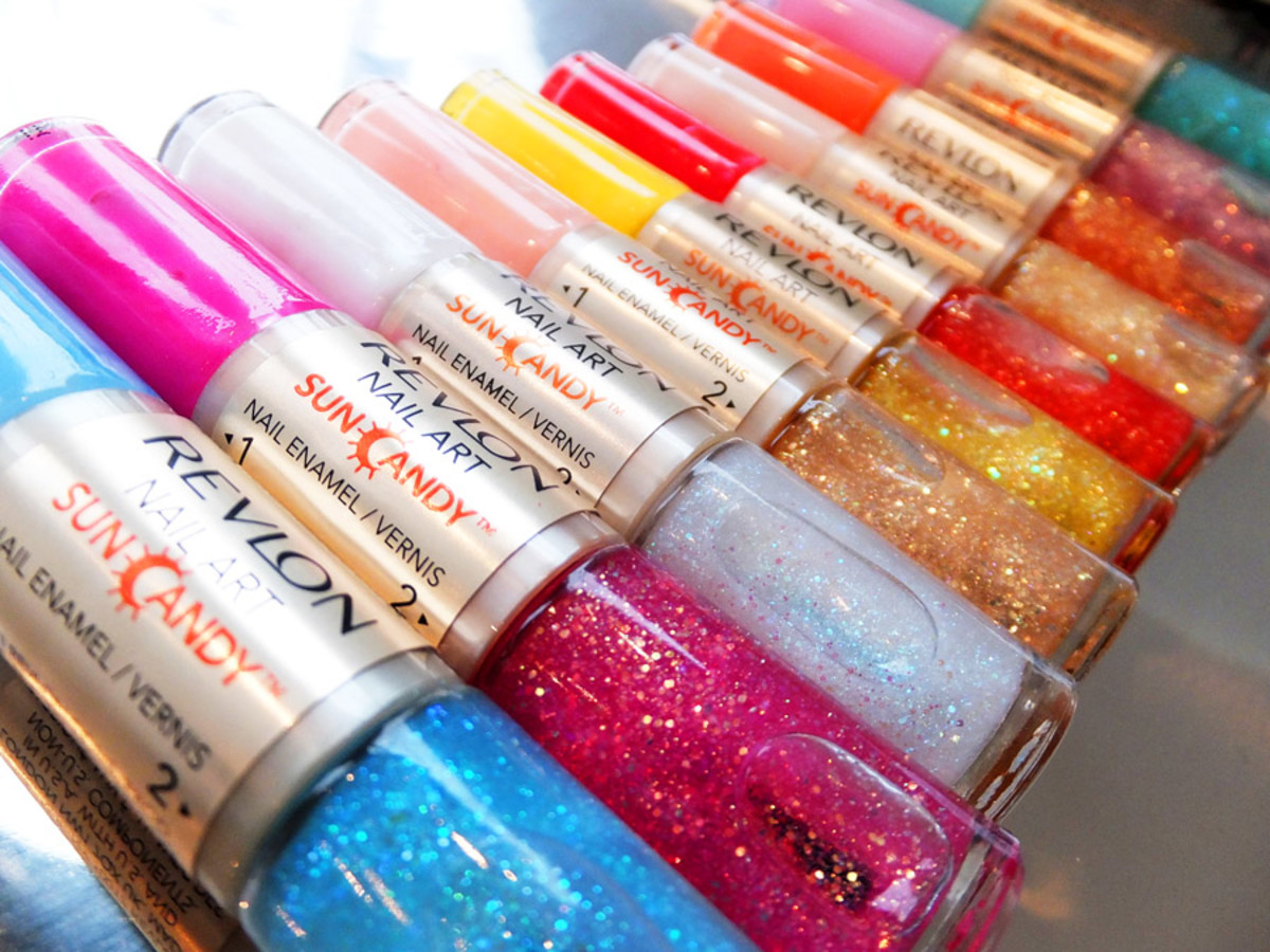 Revlon Nail Art Sun Candy duos_sparkle and shimmer shades