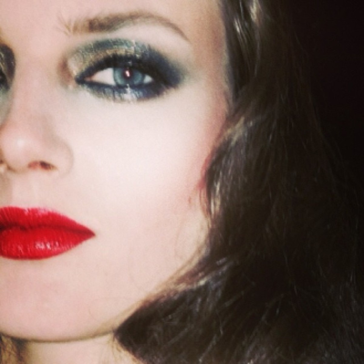 Guy Bourdin_inspiration makeup_julie cusson instagram