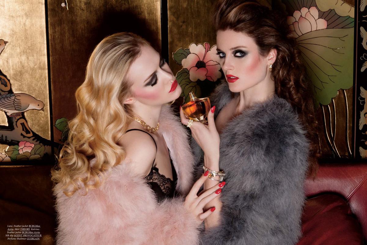 Dress to Kill_Rive Gauche story image_makeup by Chanel pro Julie Cusson_photo Sylvain Blais