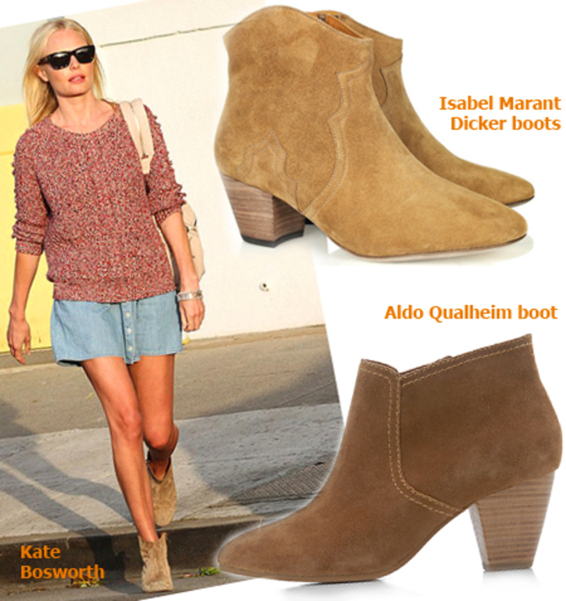 Kate Bosworth_Isabel Marant Dicker boots_Aldo Qualheim boot