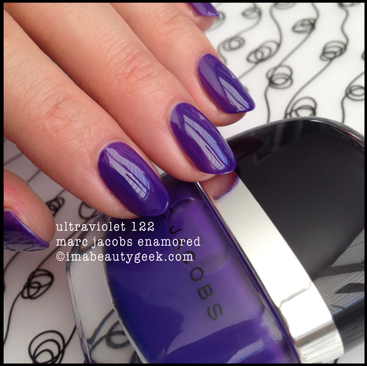 Marc Jacobs Ultraviolet 122 Enamored Nail Polish