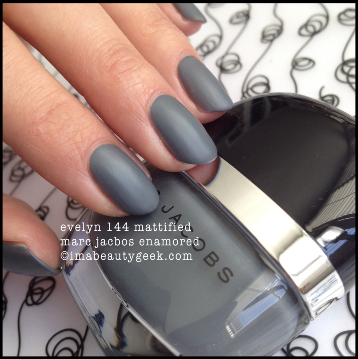 Marc Jacobs Evelyn 144 Mattified Nail Polish