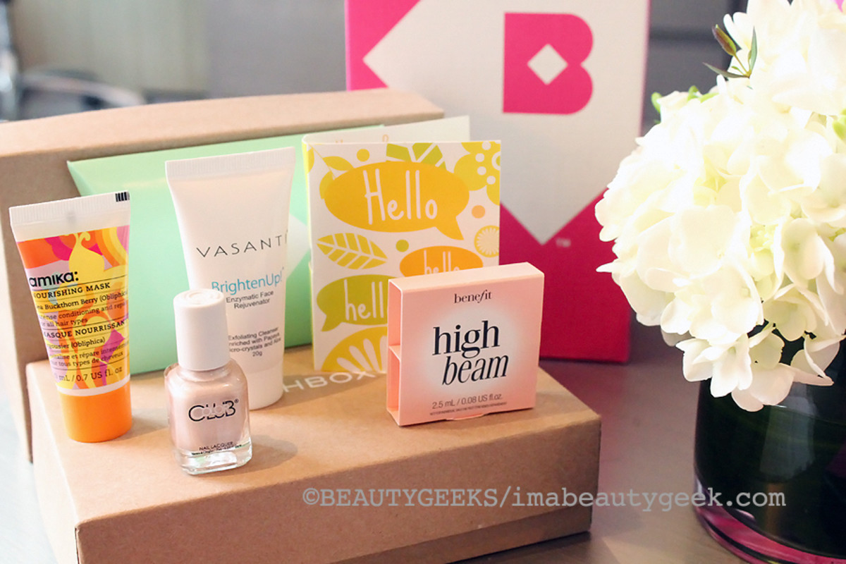 What's in your Birchbox?
