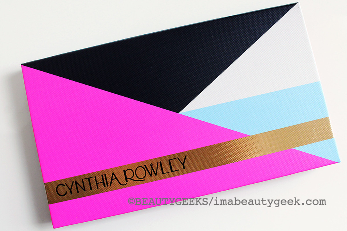 Cynthia Rowley Beauty The Game Face Eyeshadow Palette ($46 at birchbox.ca and $40 at birchbox.com)