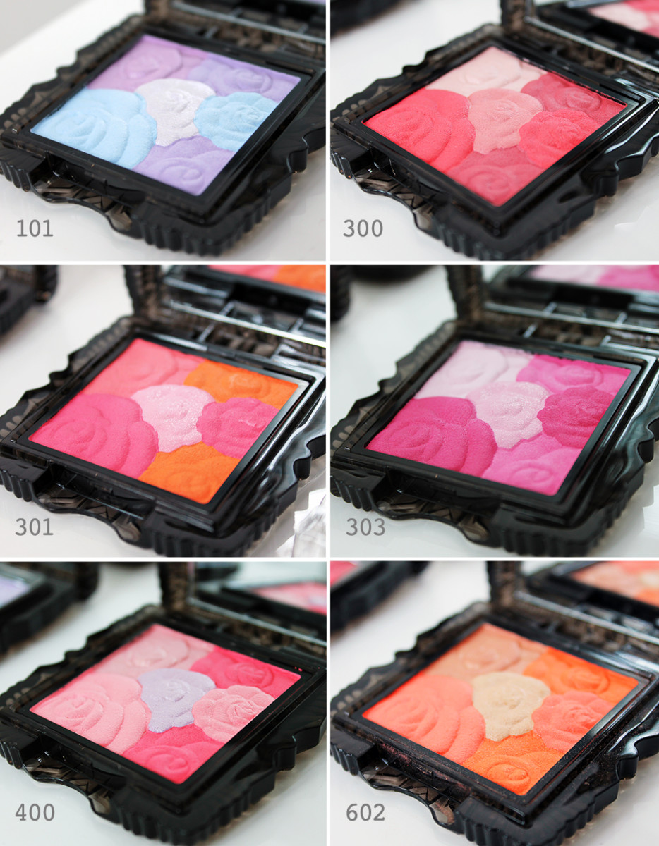 Anna Sui Fall 2014 makeup_Anna Sui Rose Cheek Color