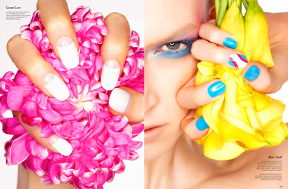 Nails by Leeanne Colley for FASHION Magazine