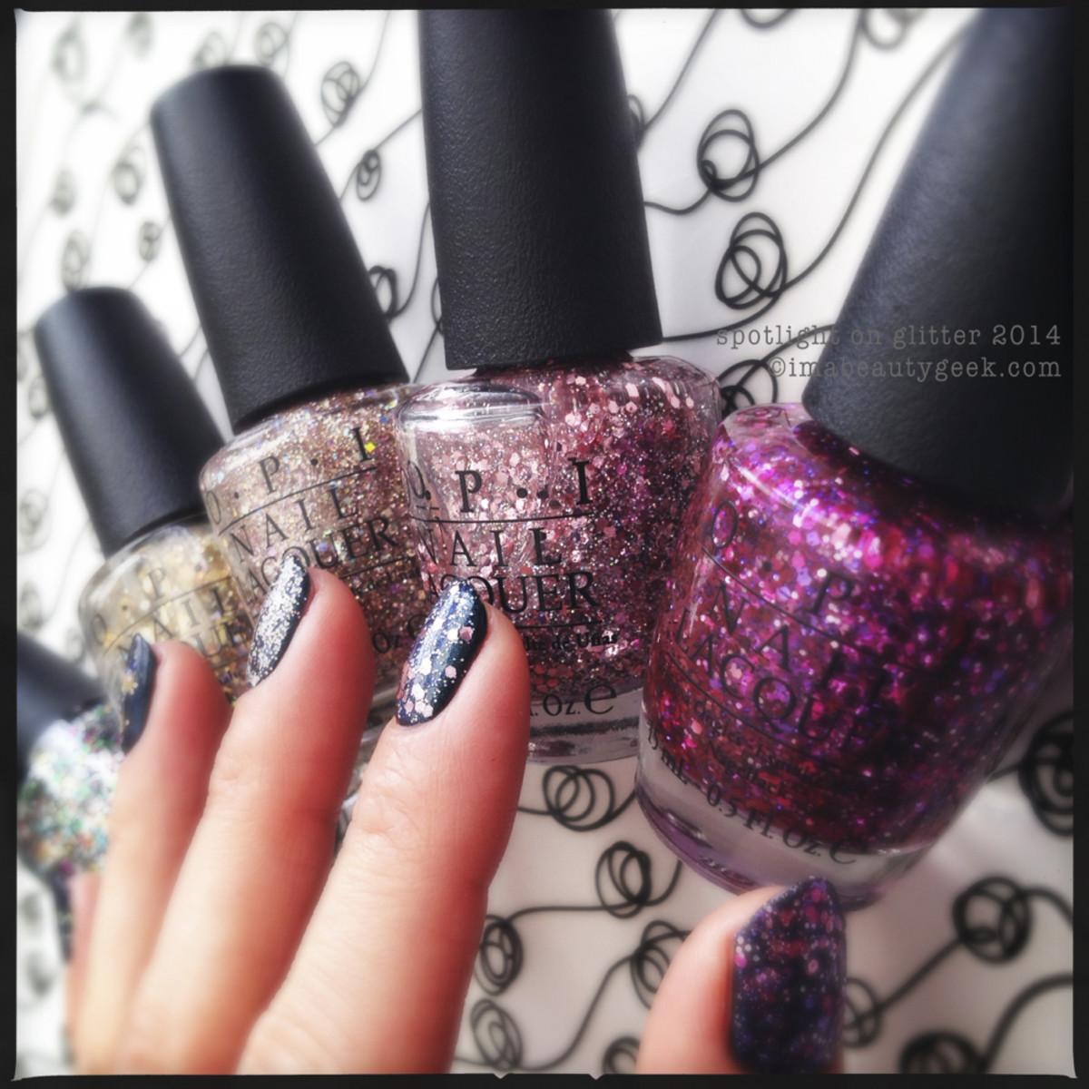 OPI Spotlight on Glitter_1  OPI Glitter