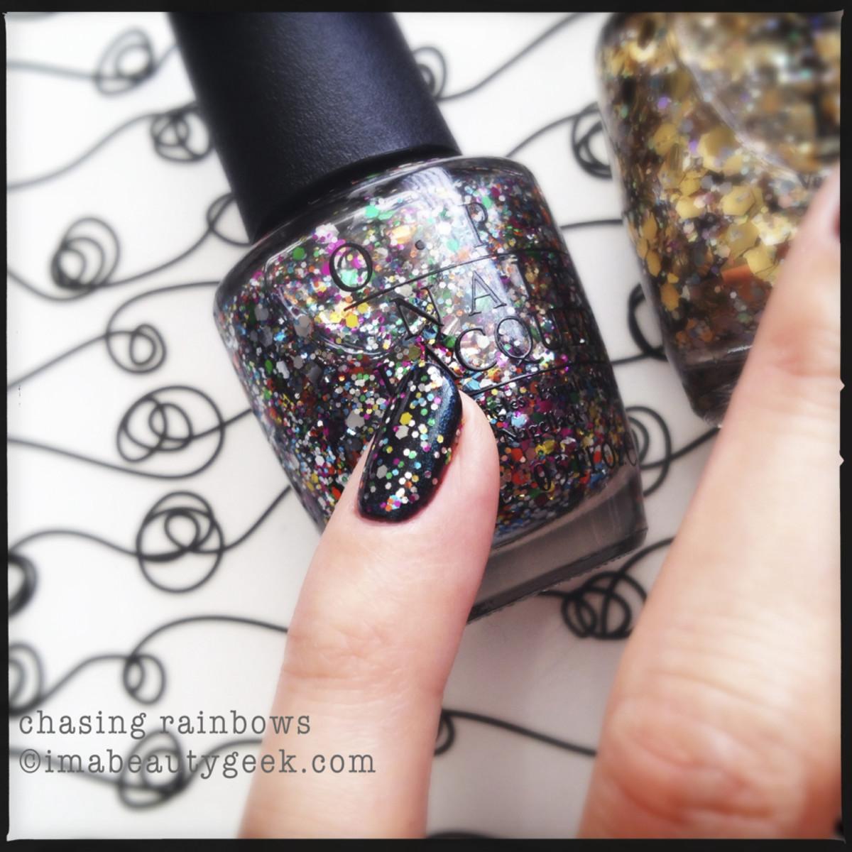 OPI Chasing Rainbows_ OPI Glitter