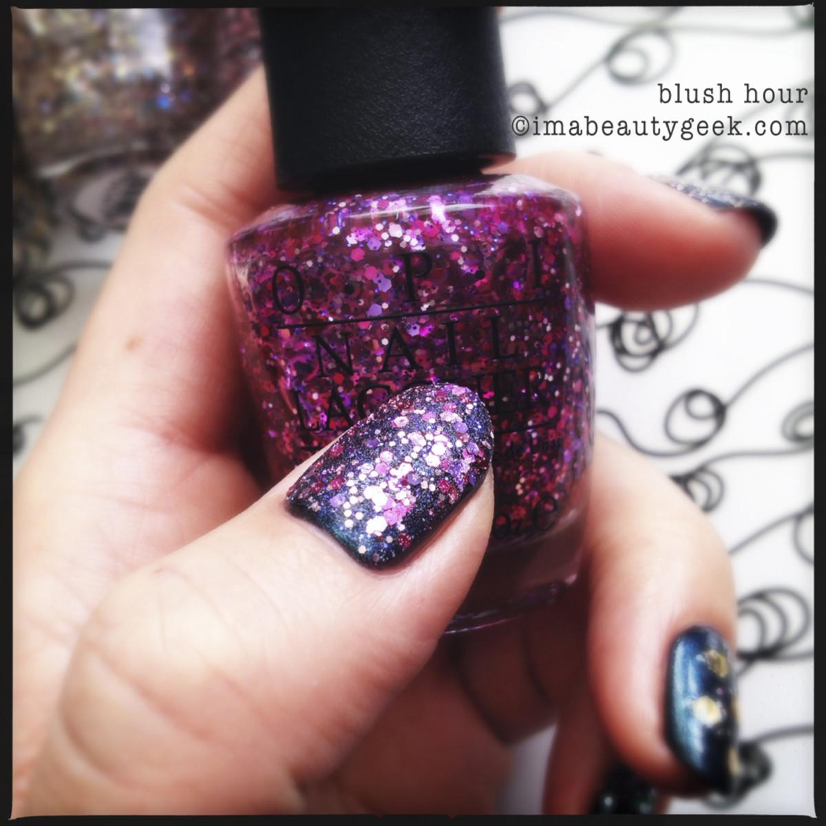 OPI Blush Hour_2  OPI Glitter