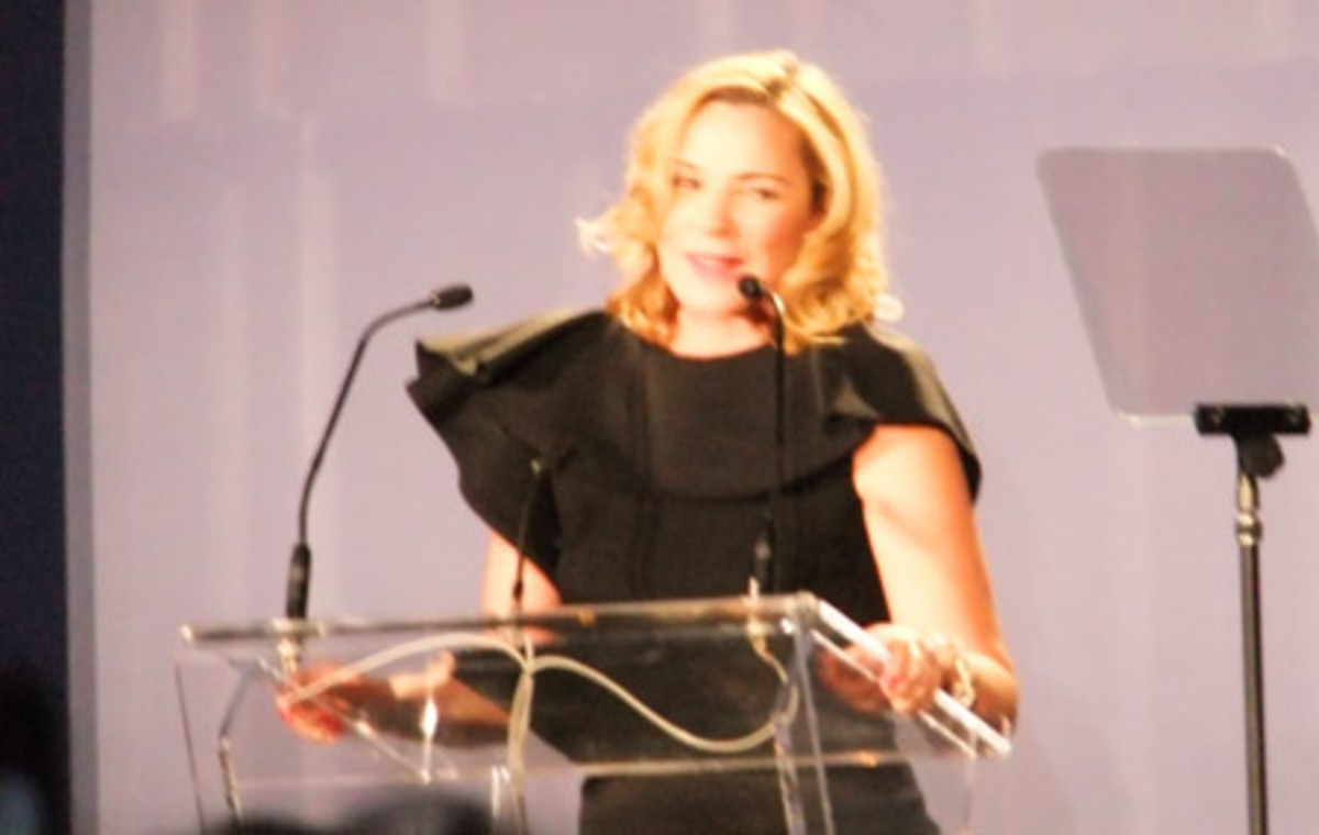 Kim Cattrall at the P&G Beauty & Grooming Awards 2011