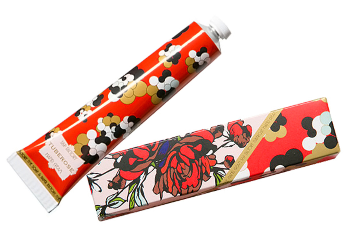 Hand Cream Gift Guide_Soap and Paper Factory Tuberose hand cream