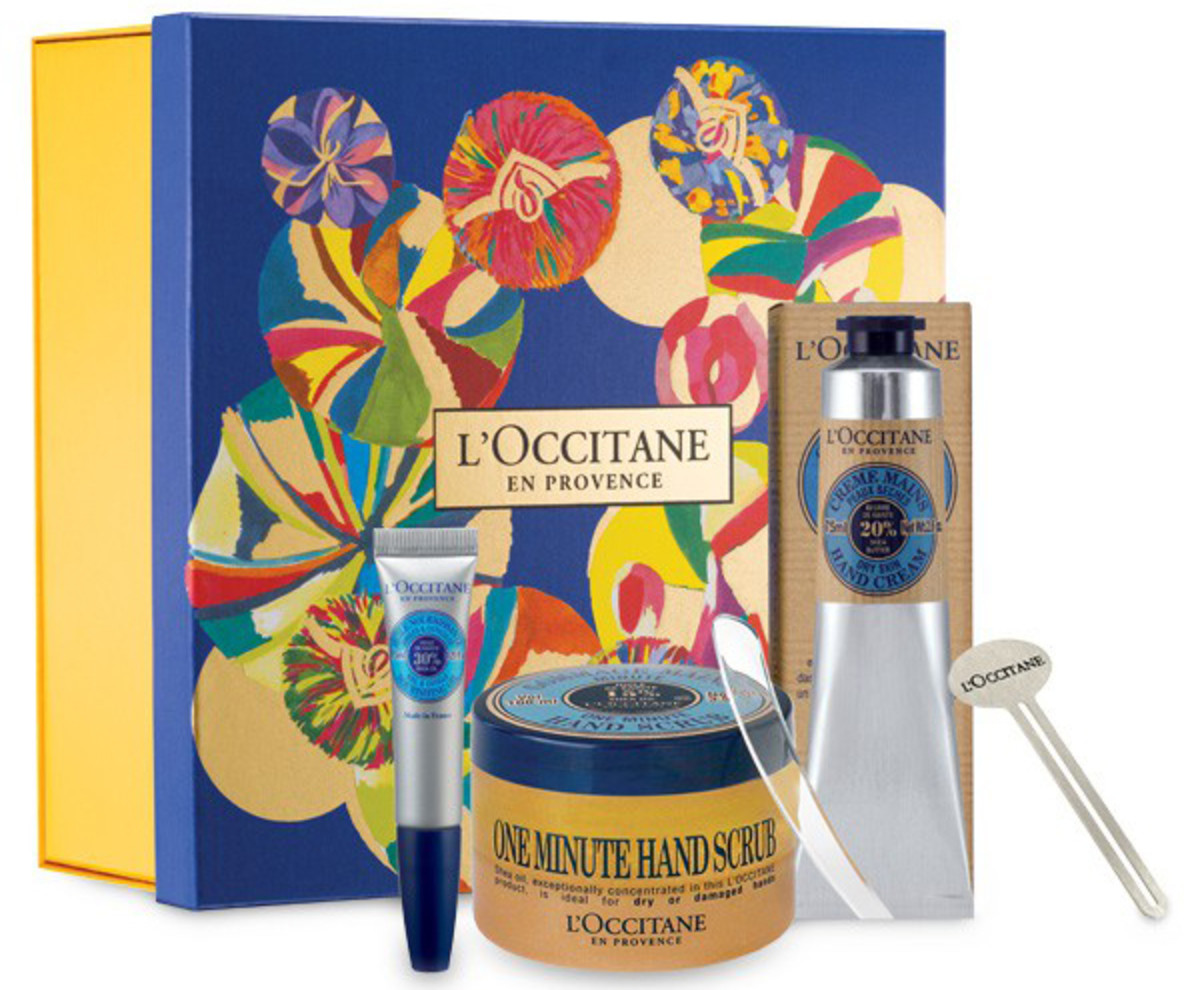 Hand Cream Gift Guide_L'Occitane The Secret to Beautiful Hands
