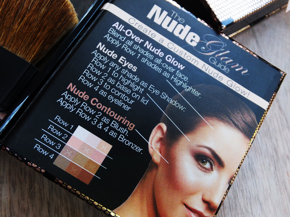 Physicians Formula Shimmer Strips All in 1 Custom Nude Palette for Face & Eyes_how-to