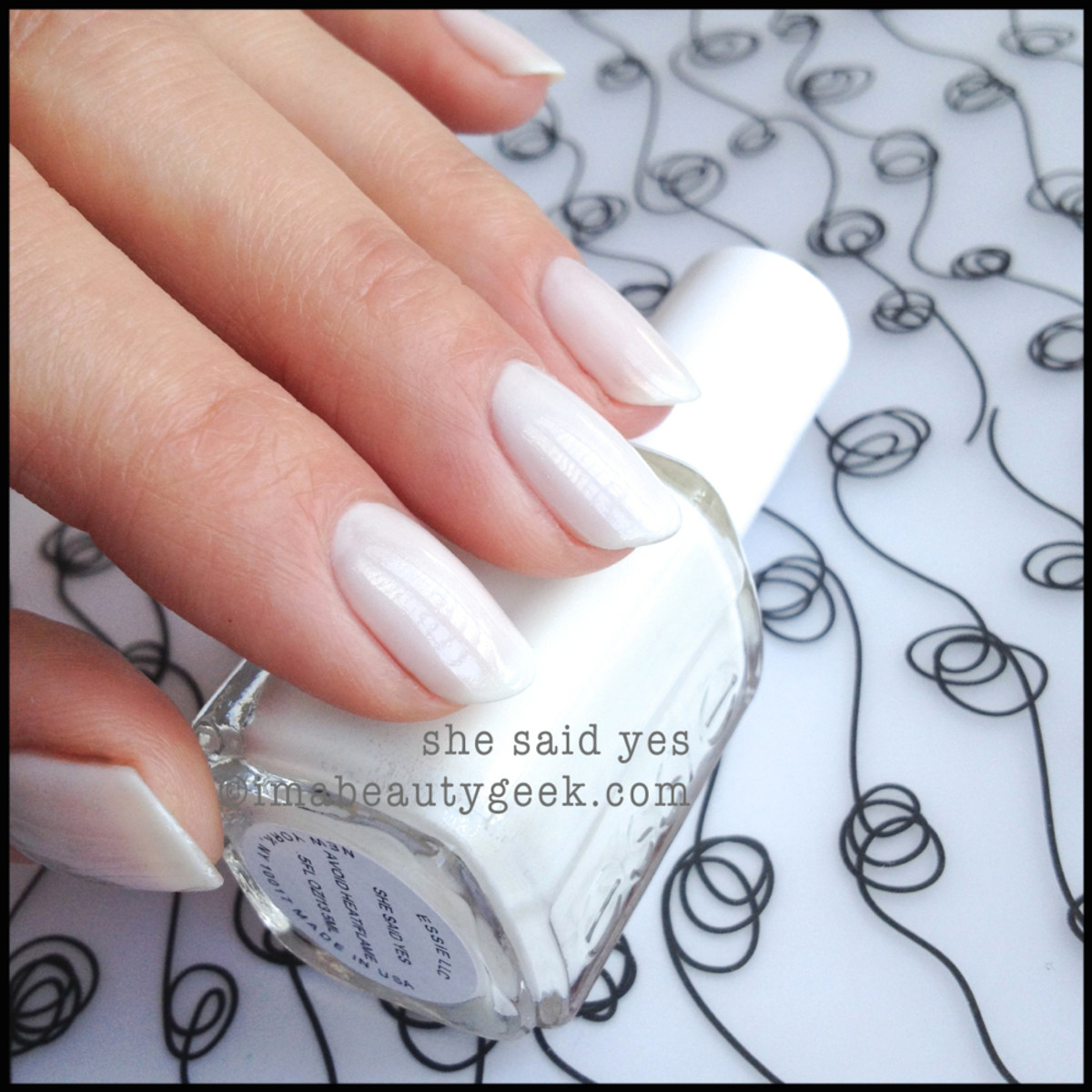 Essie She Said Yes Essie Bridal 2014