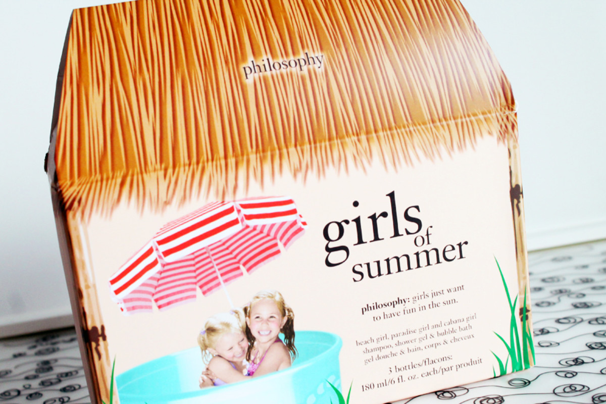 PHILOSOPHY SUMMER_philosophy girls of summer gift set