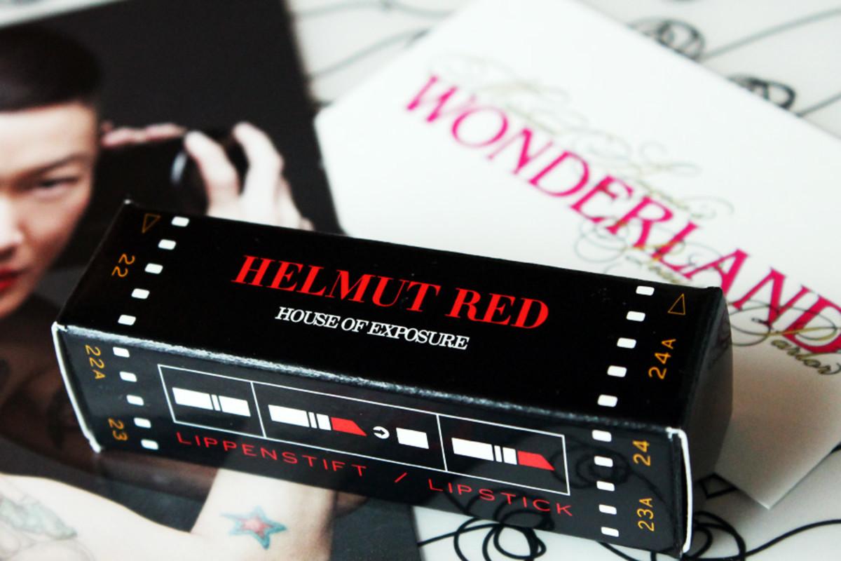 Helmut Red Lipstick_Wanderland Beauty Parlor