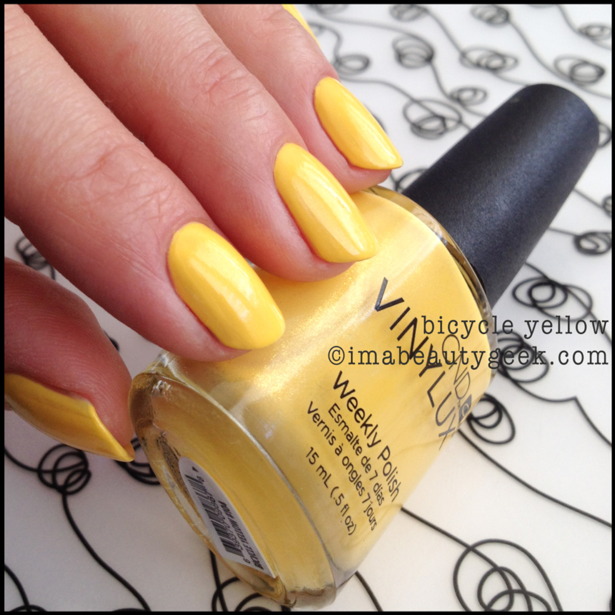 CND vinylux Bicycle Yellow paradise_cnd vinylux summer 2014