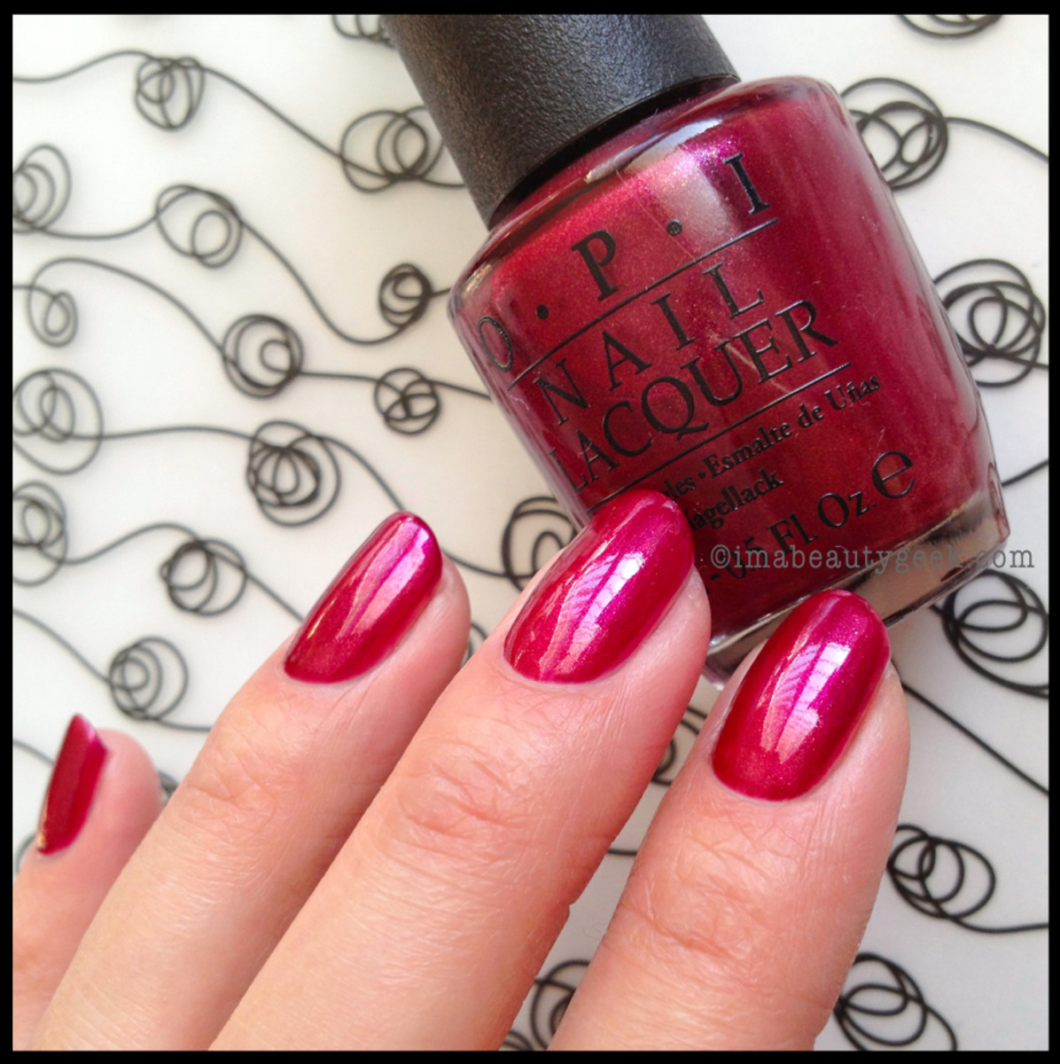 OPI Cute Little Vixen Holiday 2013
