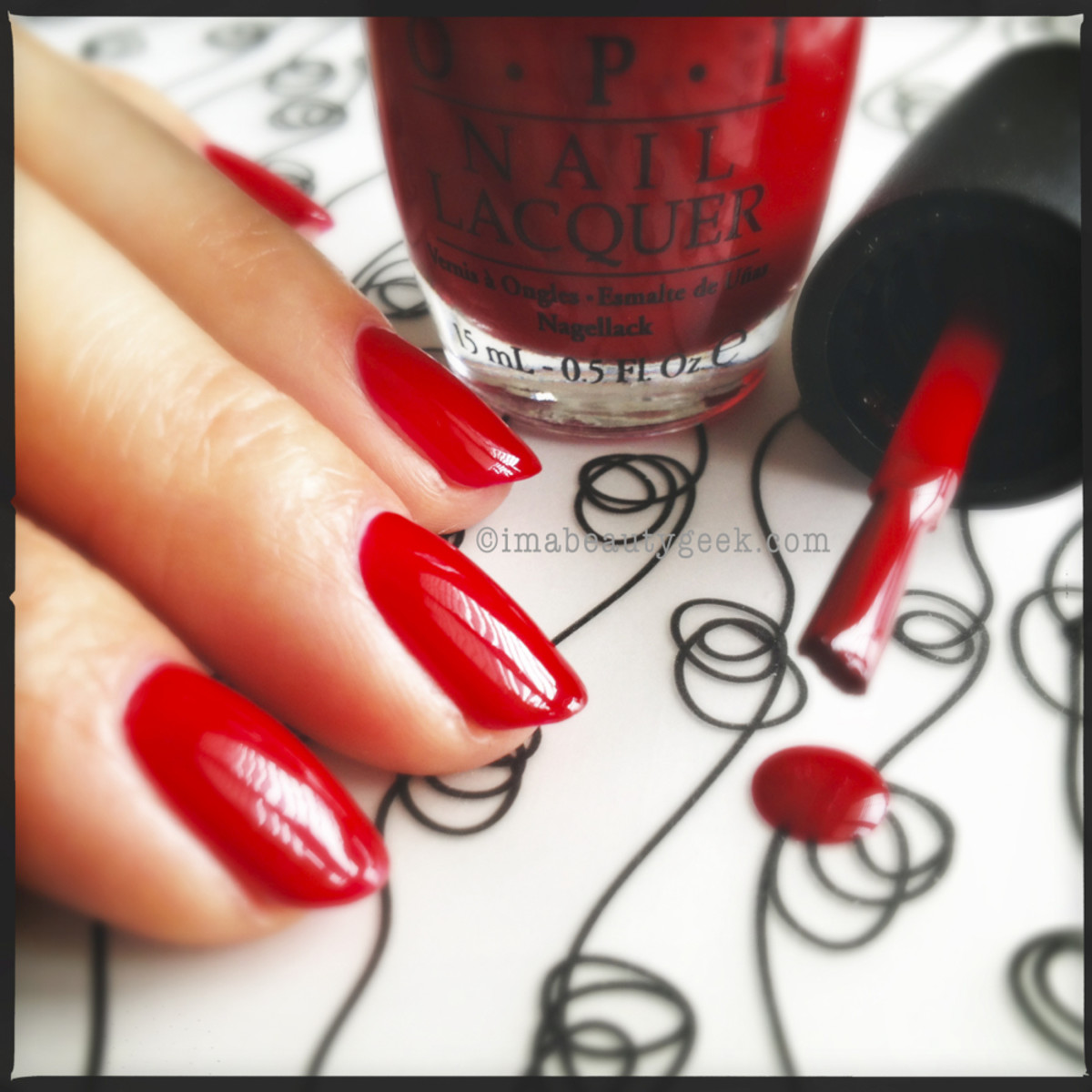 OPI All I Want for Christmas is OPI Holiday 2013