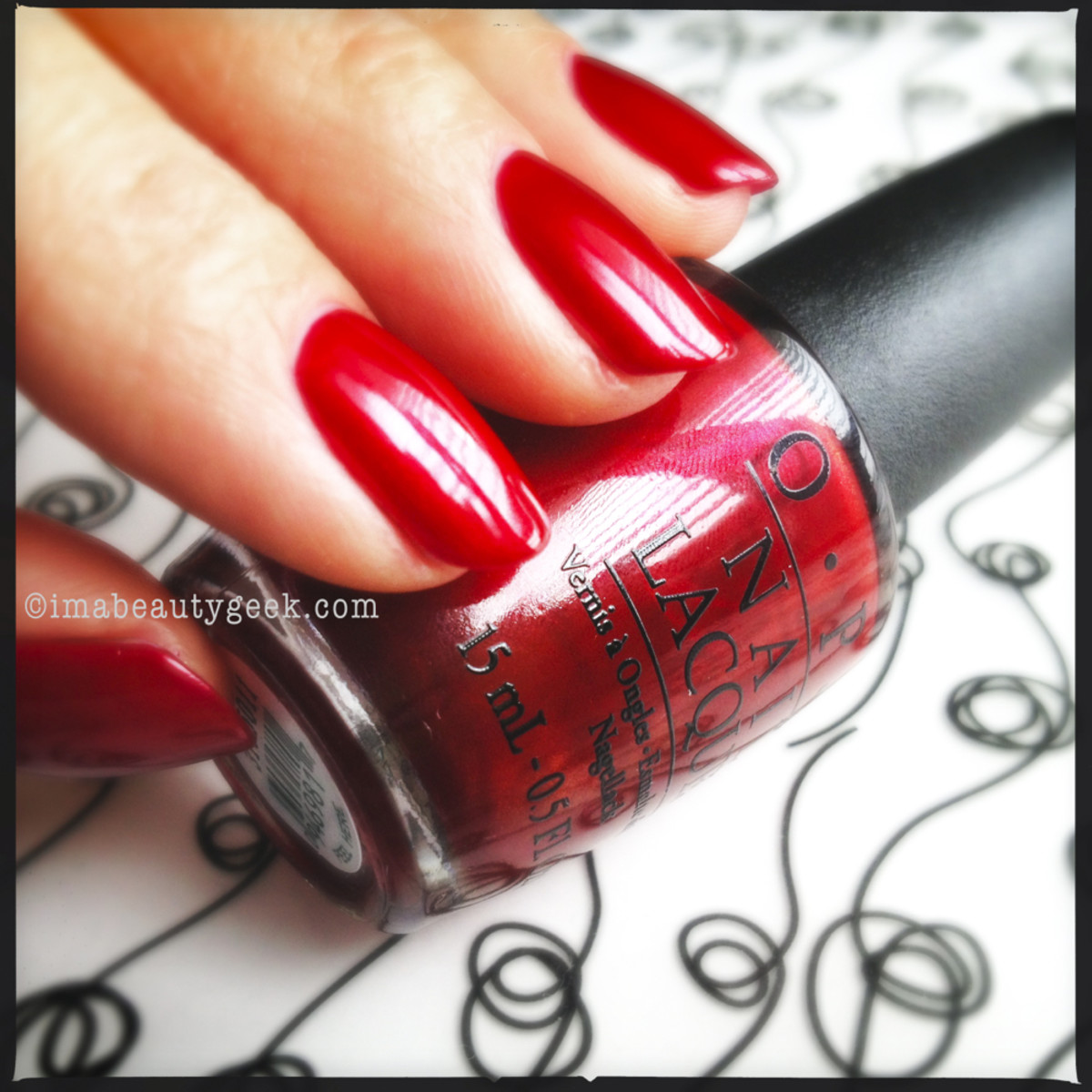 OPI In My Santa Suit Holiday 2013