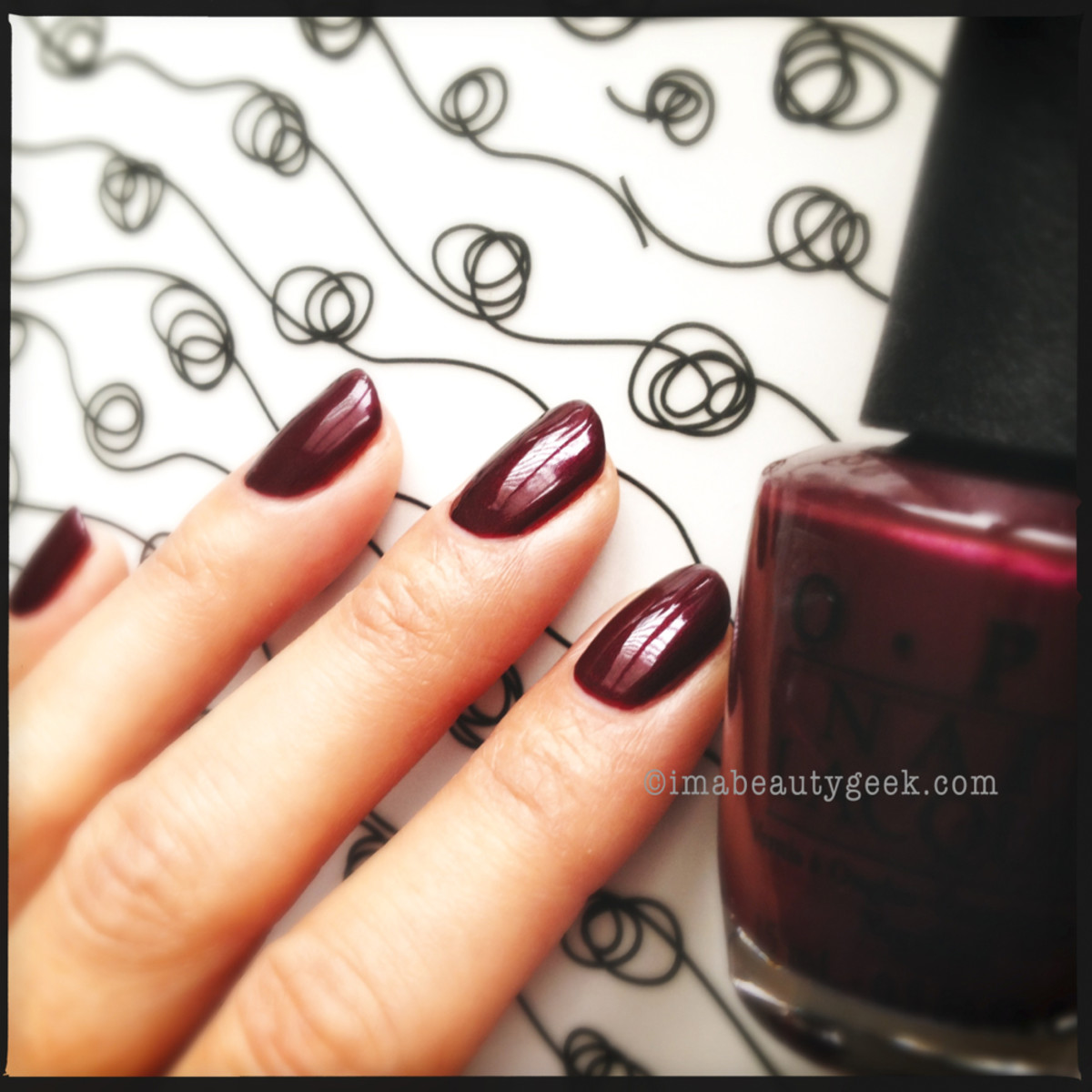 OPI Sleigh Ride for Two Holiday 2013
