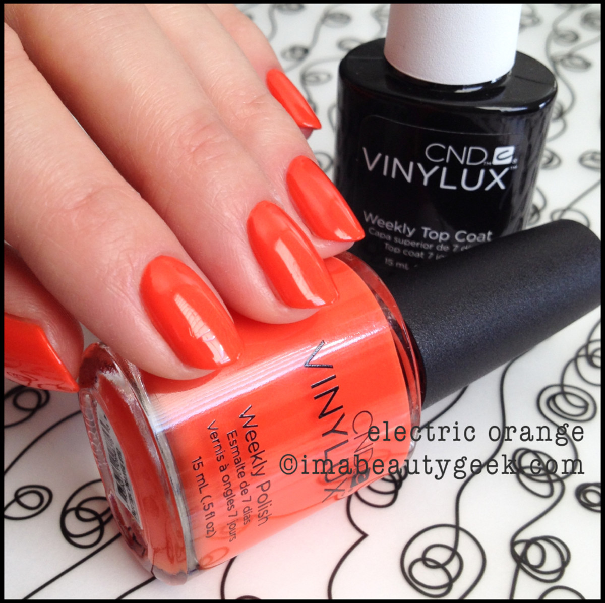 CND vinylux Electric Orange_cnd vinylux summer 2014