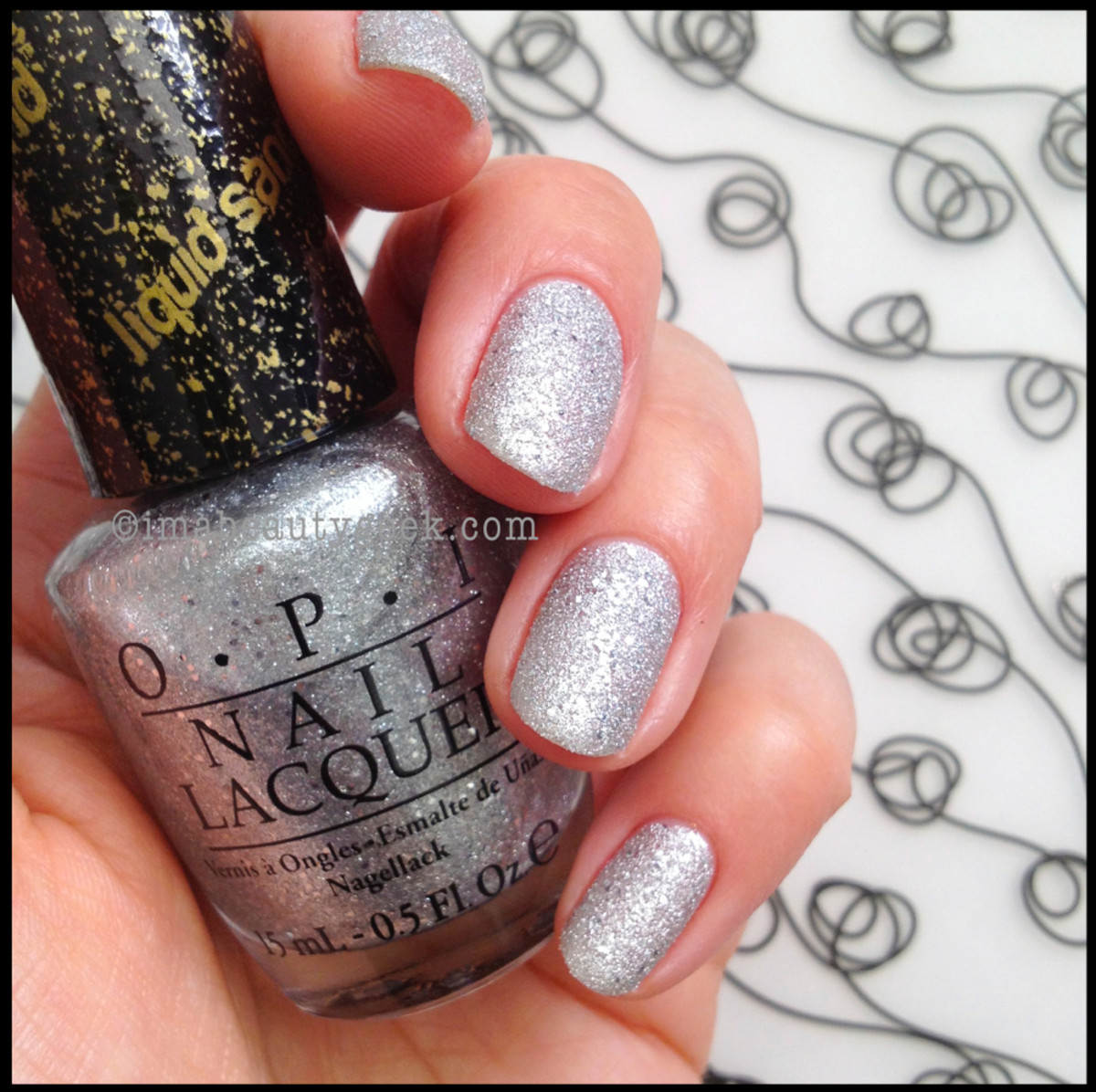 OPI It's Frosty Outside Liquid Sand Holiday 2013