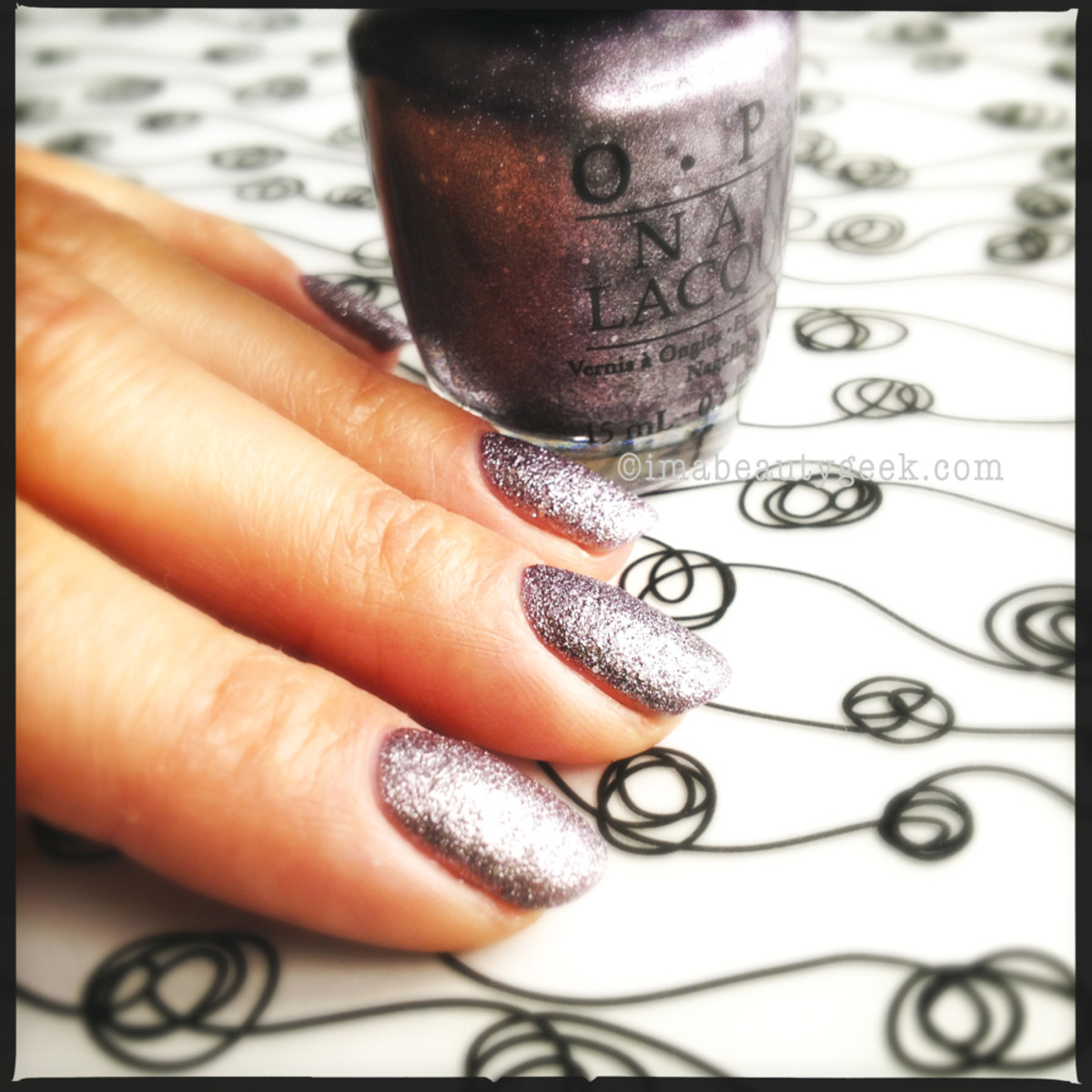 OPI Baby Please Come Home Liquid Sand Holiday 2013